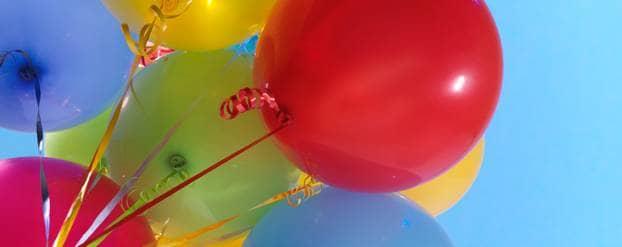 verjaardagsballonnen Shutterstock