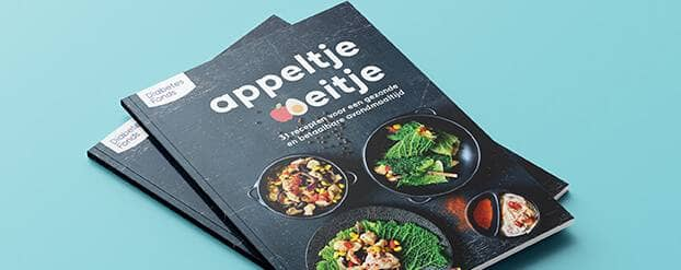 Foto appeltje-eitje receptenboek