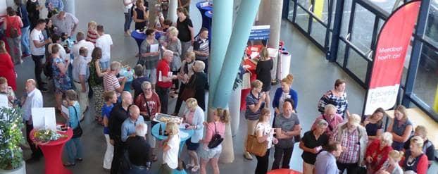 Even bijpraten met onderzoekers en het Diabetes Fonds in Zwolle