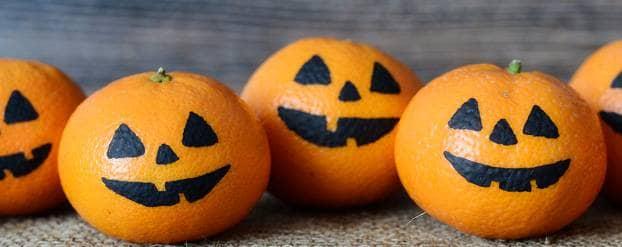 Halloween mandarijnen