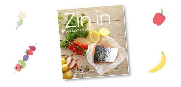 Kookboek van het Diabetes Fonds: Zin in lekker eten