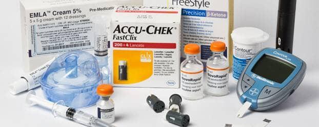 Foto medicijnen diabetes Hugo van Duijn