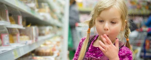 Geen snoepreclame voor kinderen