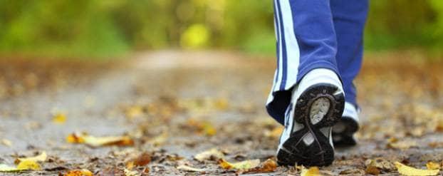 Remissie door bewegen bijvoorbeeld door vaak wandelen en een gezonde voeding