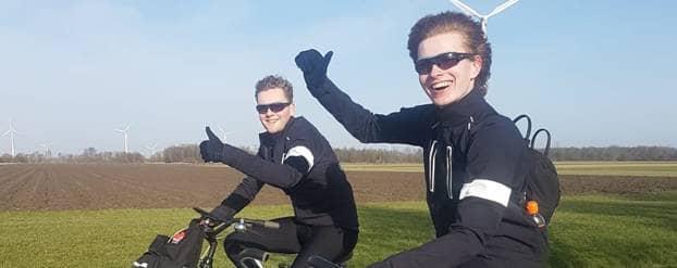 Sam fietst 25.000 bij elkaar voor onderzoek