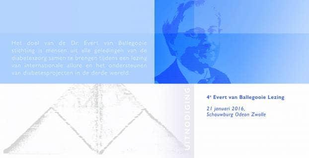 Programma Evert van Ballegooie Lezing