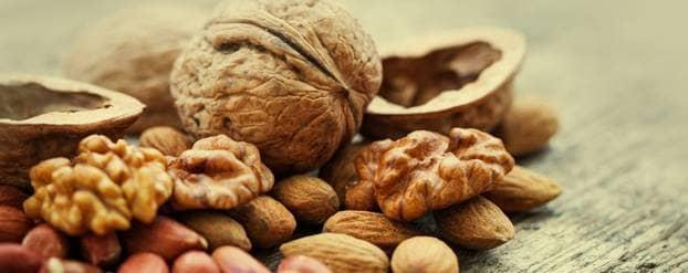 Kleinere kans op sterfte aan diabetes door noten