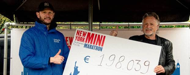 Deelnemers New York Mini Marathon halen 198.039 euro op