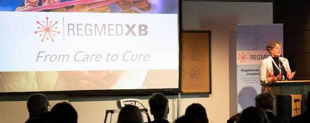 Jaarlijkse bijeenkomst RegMed XB over nieuwe cellen