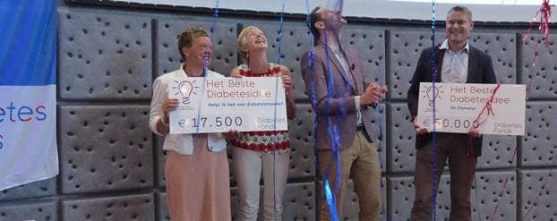 Twee winnaars 'Het Beste Diabetesidee'