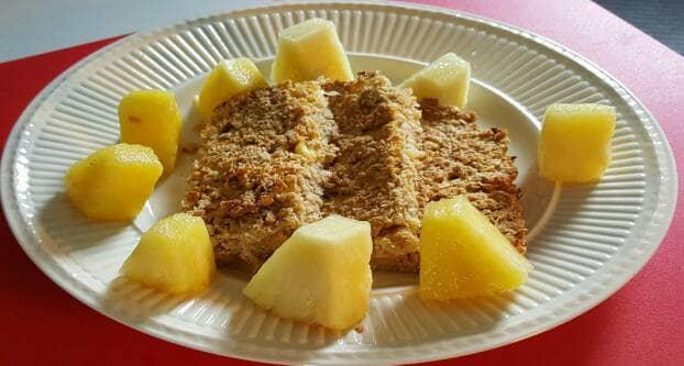 Ananas-kokoskoeken