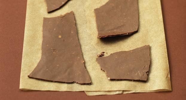 Chocolade-krokantjes