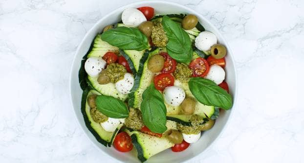 Courgettisalade