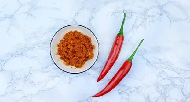 Licht pittige currypasta