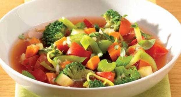 Italiaanse groentensoep