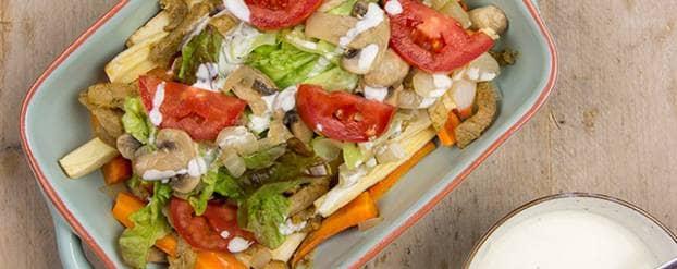 Kapsalon met groentefriet