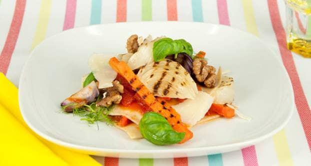 Lasagne met gegrilde groente