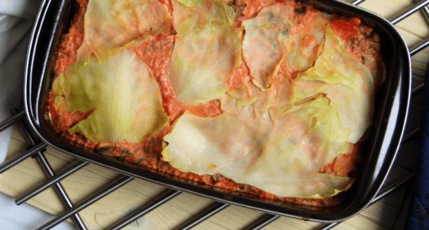 Lasagne van spitskool