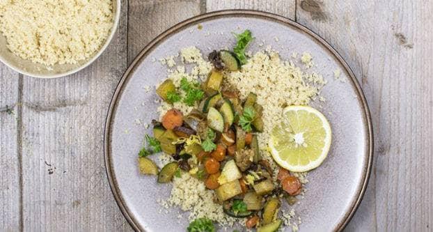 Marokkaans stoofpotje met couscous