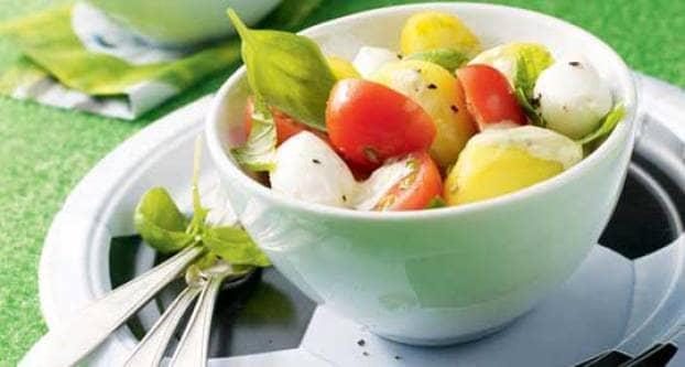 Mozzarella-salade