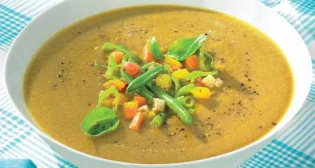 Romige groentesoep