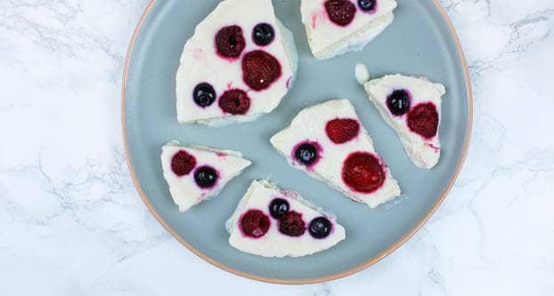 Yoghurtrepen met fruit