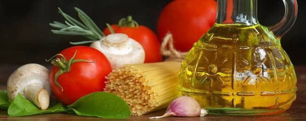 Pasta met olijfolie of aardappelen met jus?