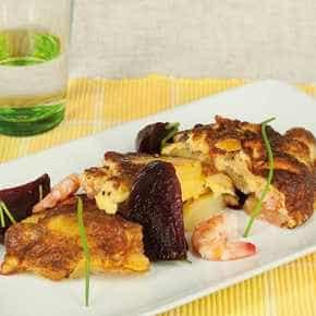 Deense aardappelkoek