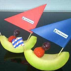 Meloenbootje