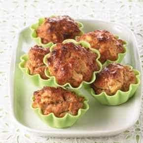 Muffins met appel en gember