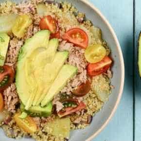Quinoasalade met tonijn