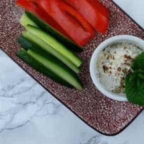 Dip voor groentefriet