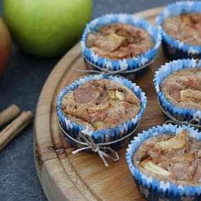 Muffinbroodje appel-kaneel