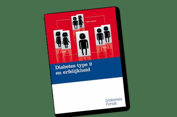 Brochure 'Diabetes type 2 en erfelijkheid'