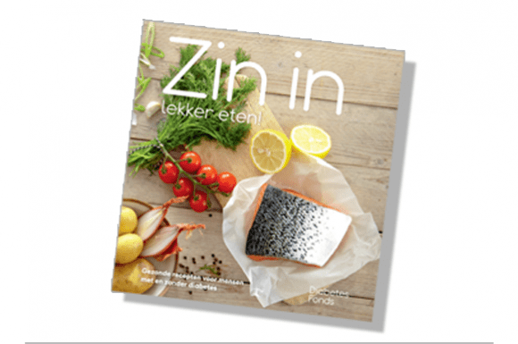 Koop het kookboek Zin in lekker eten!