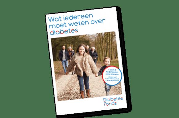 Brochure 'Wat iedereen moet weten over diabetes'
