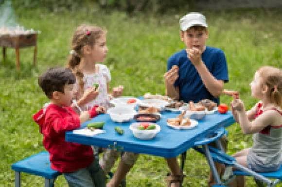 Eten met kinderen met diabetes