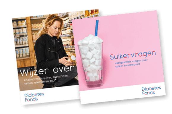 Gratis brochures over minder suiker