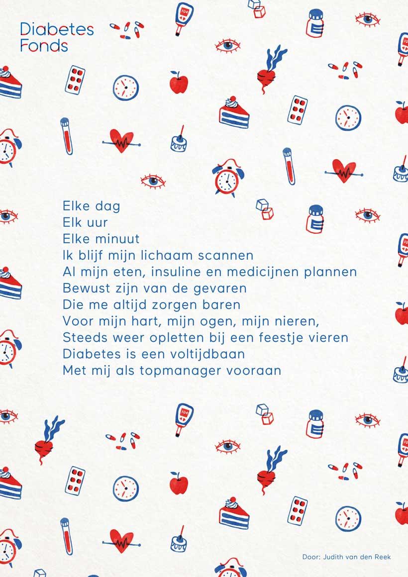 Diabetes gedicht